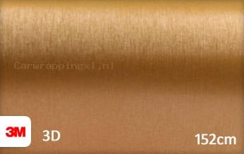 3M 1080 BR241 Brushed Gold car wrap folie