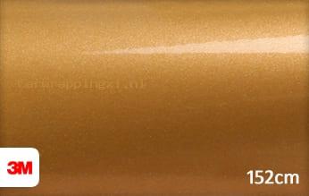 3M 1080 G241 Gloss Gold Metallic car wrap folie