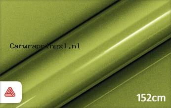 Avery SWF Acid Green Gloss Metallic car wrap folie