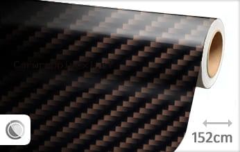 Bruin 2D carbon car wrap folie