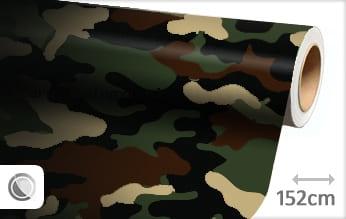 Camouflage leger car wrap folie