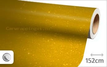 Diamant geel car wrap folie