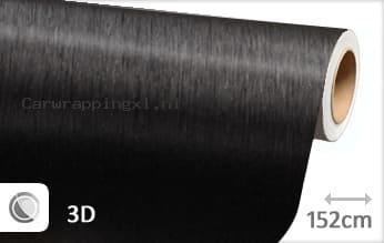 Geborsteld aluminium zwart car wrap folie