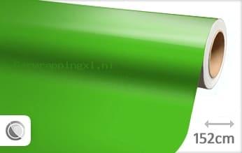 Glans groen car wrap folie