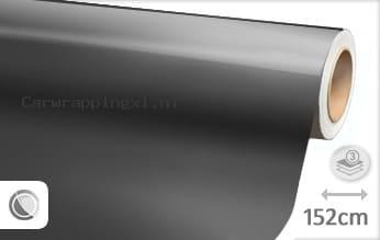Glans metallic antraciet car wrap folie