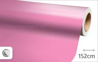 Glans roze car wrap folie