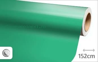 Glans turquoise car wrap folie