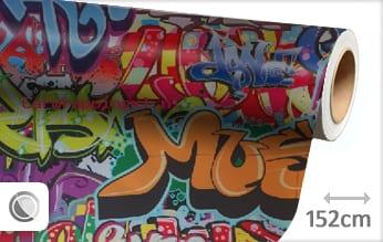 Graffiti car wrap folie