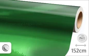 Groen chroom car wrap folie