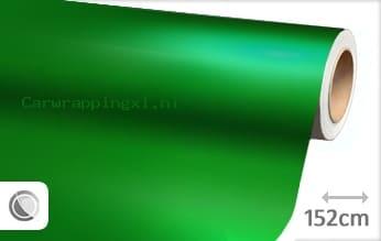 Mat chroom groen car wrap folie
