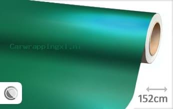 Mat chroom turquoise car wrap folie