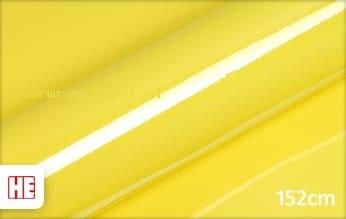 Hexis HX20108B Lemon Yellow Gloss car wrap folie