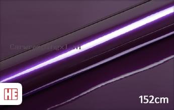 Hexis HX20352B Elderberry Purple Gloss car wrap folie