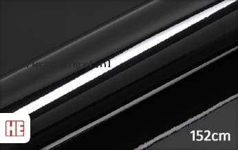 Hexis HX20889B Coal Black Gloss car wrap folie
