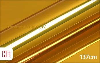 Hexis HX30SCH07B Super Chrome Gold Gloss car wrap folie