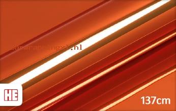 Hexis HX30SCH08B Super Chrome Orange Gloss car wrap folie