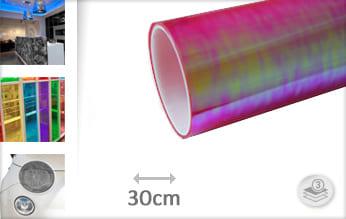 Flipflop roze transparant car wrap folie